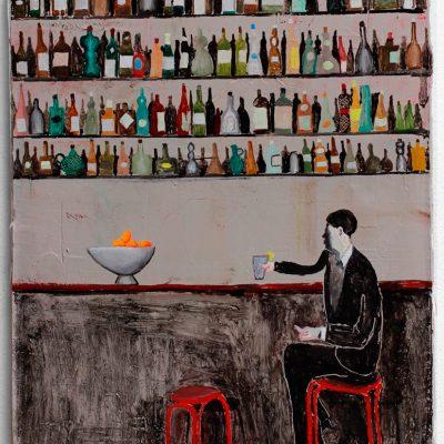 Alleine in der Bar (Cointreau ist alle)