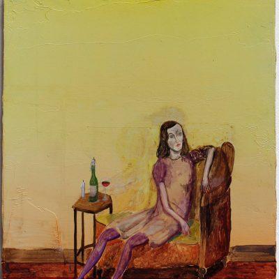 Die Melanchoholikerin | The melanchoholic